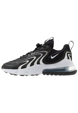 Nike Sportswear - AIR MAX 270 REACT - Sneaker low - black/white/dark smoke grey/wolf grey