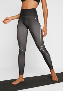 Reebok - SEAMLESS - Tights - black