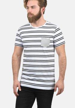 Solid - SALU - T-Shirt print - light grey