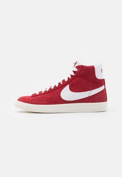 Nike Sportswear - BLAZER MID UNISEX - Baskets montantes - gym red/white/sail/total orange/black