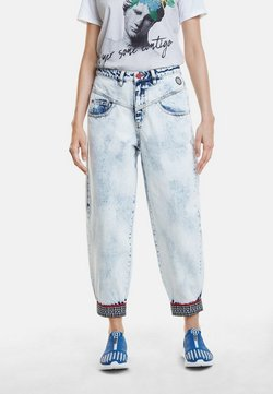 Desigual - DENIM_TOUCH THE SKY - Jeans baggy - blue