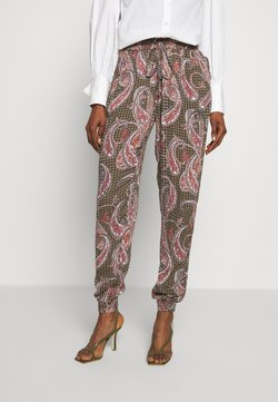 Kaffe - ROKA AMBER PANTS - Stoffhose - grape leaf