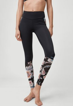 O'Neill - AOP - Tights - black with red