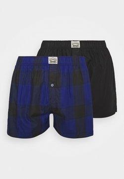 Levi's® - MEN PREMIUM CHECK 2 PACK - Boxershorts - blue