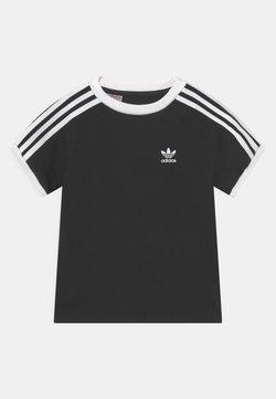 adidas Originals - 3 STRIPES TEE UNISEX - T-shirt imprimé - black/white
