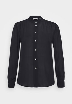 Rich & Royal - BLOUSE WITH GATHERING DETAIL - Camicia - black