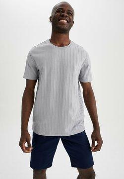 DeFacto - T-Shirt print - grey