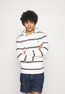 Quiksilver - HOOD - Sweatshirt - antique white