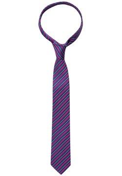 Eterna - Krawatte - marine/pink