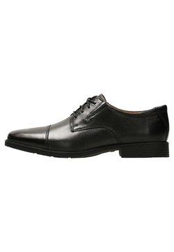 Clarks - TILDEN CAP - Business-Schnürer - black