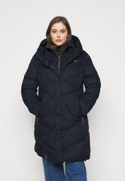 Ragwear Plus - NATALKA PLUS - Wintermantel - navy