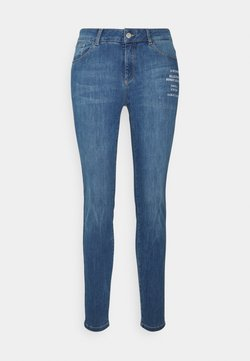 comma casual identity - HOSE LANG - Slim fit jeans - light blue