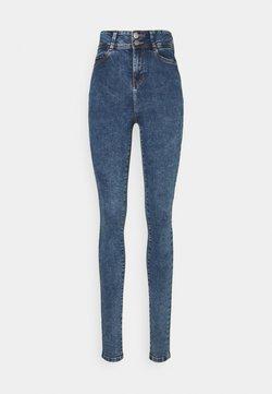 Noisy May Tall - NMAGNES - Jeansy Skinny Fit - medium blue denim