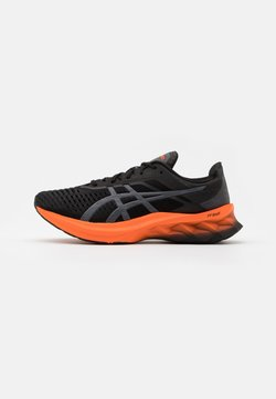 ASICS - NOVABLAST - Zapatillas de running neutras - black/carrier grey