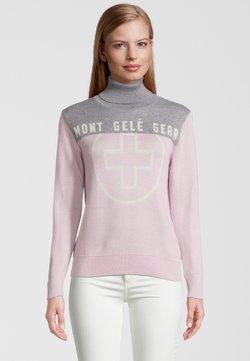 Mont Gele Gear - Strickpullover - pink grau