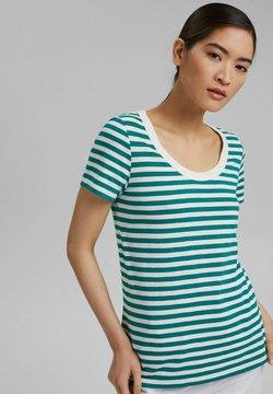 Esprit - FASHION  - T-Shirt print - teal green