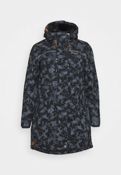 Ragwear Plus - TAWNY CAMO PLUS - Parka - anthracite