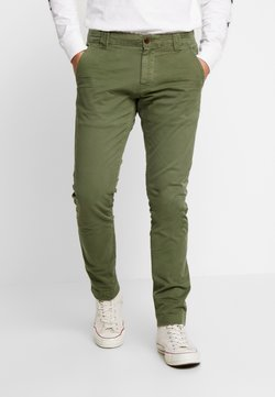Tommy Jeans - SCANTON WASHED PANT - Chinot - cypress