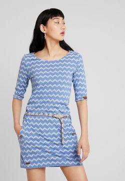 Ragwear - TANYA ZIG ZAG - Jerseykleid - blue