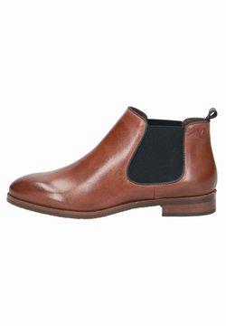 Caprice - CHELSEA BOOT - Ankle Boot - cognac/ocean