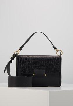 Zign - LEATHER  - Handtasche - black