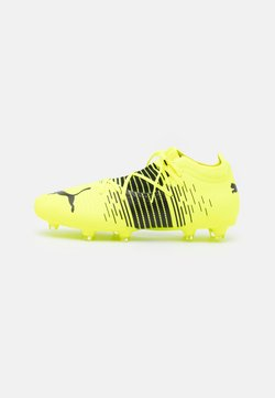Puma - FUTURE Z 3.1 FG/AG - Chaussures de foot à crampons - yellow alert/black/white