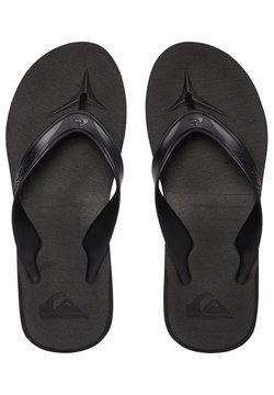Quiksilver - Tongs - black/black/brown