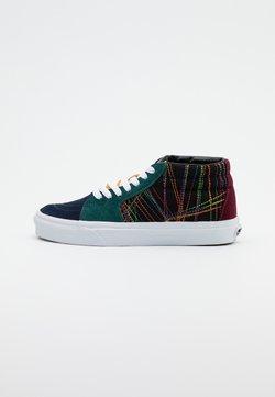 Vans - SK8 MID UNISEX  - Sneakersy wysokie - dark rainbow