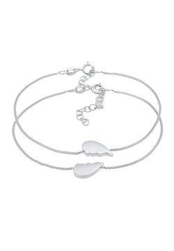 Elli - HEART - Armband - silber