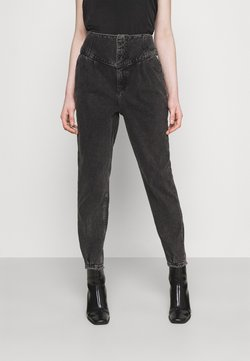 River Island - Jeans baggy - washed black