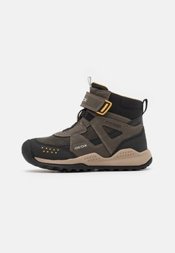 Geox - TERAM BOY ABX - Snowboot/Winterstiefel - military/dark yellow