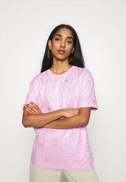 Nike Sportswear - TEE ICON CLASH - T-Shirt print - arctic pink