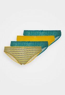 Etam - TAMILA 4 PACK - Panties - moutarde ocre