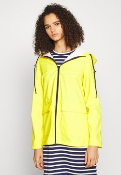 PIECES Tall - PCRARNA RAIN JACKET - Parka - empire yellow