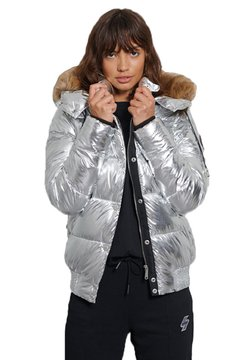 Superdry - Winterjacke - silver metallic
