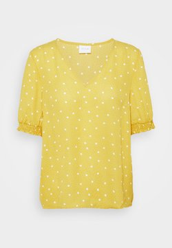 Vila - VIDOTTIES - Bluse - spicy mustard