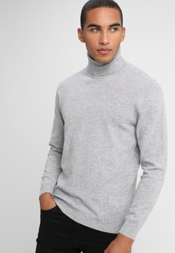 Benetton - BASIC ROLL NECK - Jersey de punto - light grey