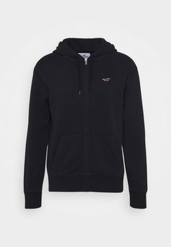 Hollister Co. - GENDERLESS ICON - Sweatjacke - black