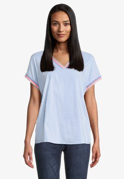 Betty Barclay - T-Shirt print - light blue white
