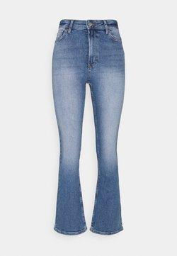 ONLY - ONLCHARLIE LIFE - Flared Jeans - medium blue denim