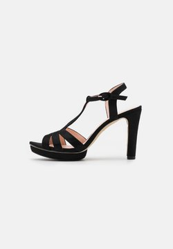 Repetto - Korolliset sandaalit - carbone black