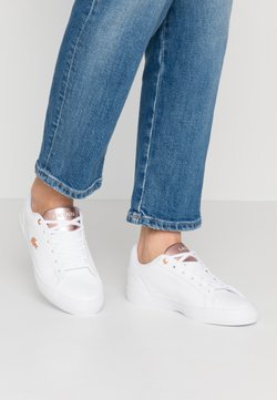 Lacoste - LEROND  - Sneaker low - white/light pink