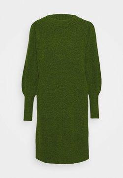 Selected Femme - SLFLINNA NEW DRESS O NECK - Neulemekko - twist of lime