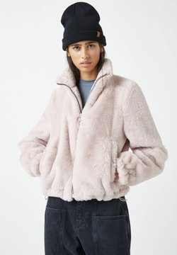 PULL&BEAR - Winterjacke - rose
