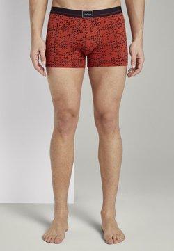 TOM TAILOR - UNDERWEAR GEMUSTERTE HIP-PANTS - Shorty - red-medium-allover