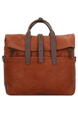 Harold's - MOUNT  - Notebooktasche - cognac/brown