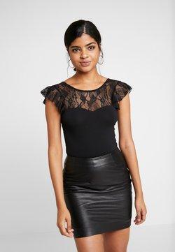 Vero Moda - VMSALLY BODYSUIT - T-Shirt print - black