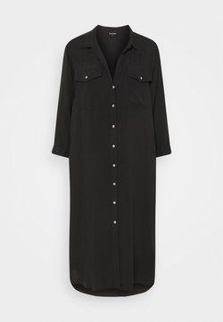 True Religion - UNTILITY DRESS - Maxikleid - black