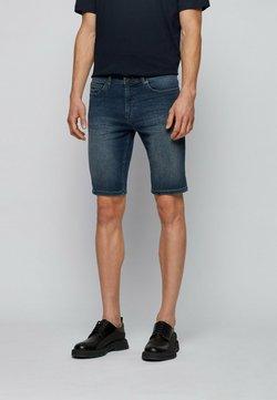 BOSS - Shorts vaqueros - dark blue
