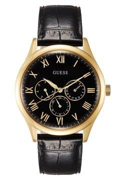 Guess - MENS TREND - Montre - black/gold-coloured